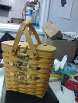 Longaberger Rare Razzberry Special Friends Basket - 2000 - $36.75