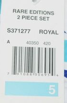 Rare editions Giraffe Shirt Bike Short 2 Piece set Royal blue Size 5 image 6