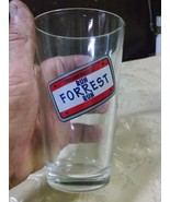 Bubba Gump Shrimp Co.  Drinking Glass Tumber, reads RUN FORREST RUN - $14.97