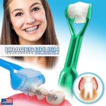 DenTrust | Braces Brush 3-Sided Toothbrush | Clinically Proven Orthodontic | USA - $5.95