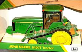 John Deere 8400T Tractor MFWD Replica w/ Box 1/16 Scale Collectors Edition AA20- image 3