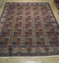 9 x 13 Fine Quality Complex Design Multi-Color Bakhtiari Persian Rug image 10
