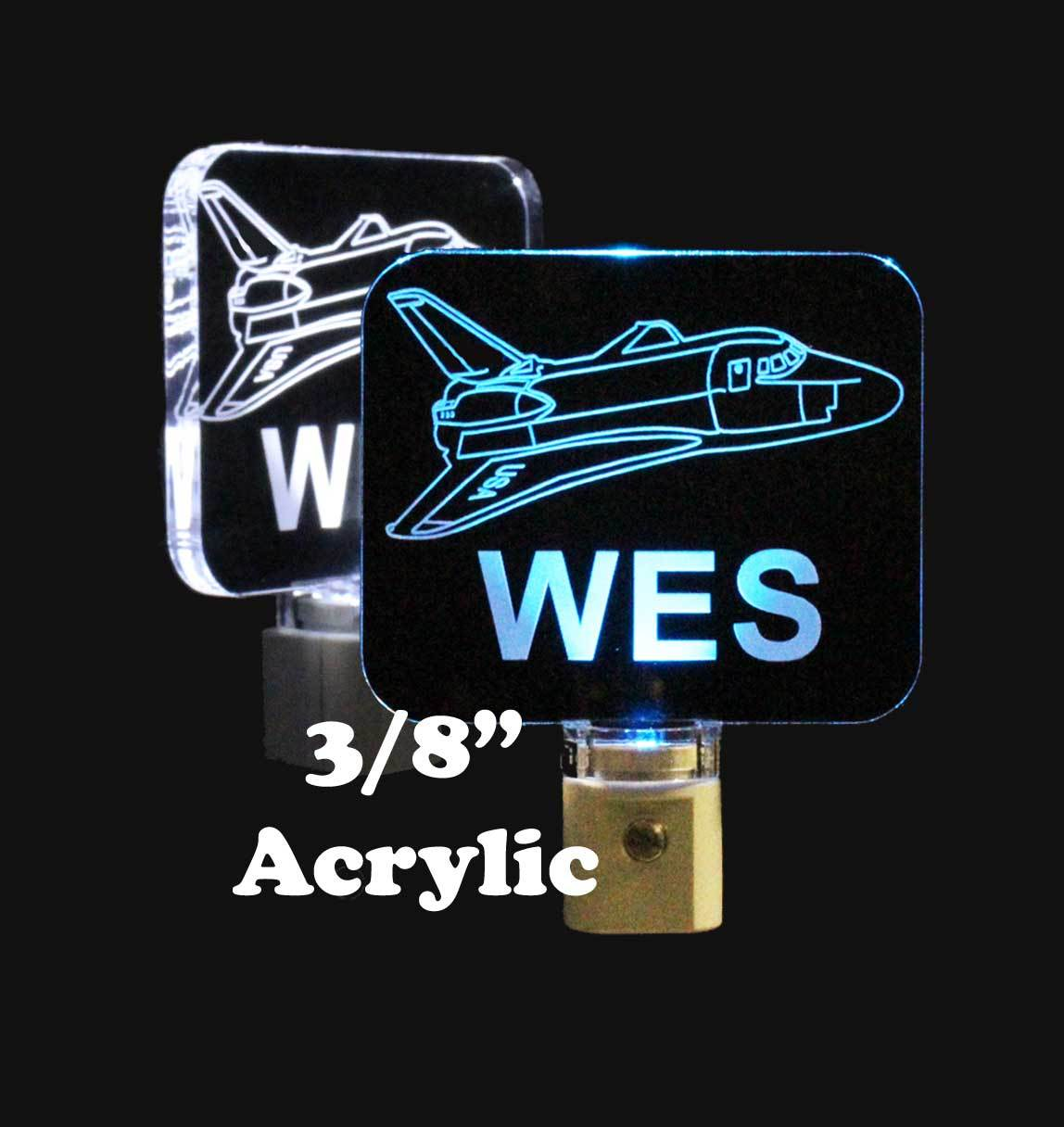 Primary image for Kids Space Ship Personalize Night Light