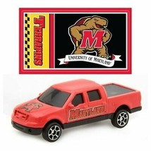 MARYLAND TERRAPINS DIECAST TRUCK FORD F-150 PICK-UP 1:87 W/STICKER 2 PACK - $5.98