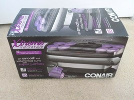 New-Conair Xtreme Instant Heat Jumbo and Super Jumbo Hot Rollers--FREE S... - $29.69