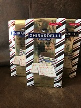 3 Packages Ghirardelli Dark Chocolate Peppermint Bark 7.7 oz. - $11.88