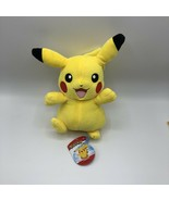 Pokemon Pikachu WCT Wicked Cool Toys 2018 jumping happy smiling - $14.84