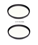 TWO 2 UV Filters For Panasonic HDCHS20P HDC-TM20P HDC-TM20PC HDC-TM20R H... - $10.61