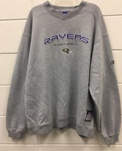 Baltimore Ravens NFL Crewneck Sweatshirt Size XL Reebok Team Apparel  - €13,48 EUR