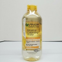 Garnier SkinActive Micellar Cleansing Water with Vitamin C, 13.5 oz SEALED  - $15.25