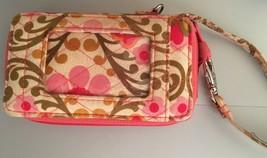 Vera Bradley Folkloric Zippered Carry It All Credit Card ID Wristlet - $7.43