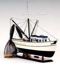 """Shrimp Boat 25"""" Long Forrest Gump Fully Assembled New in Box - $291.95"""