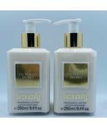 2 Bottles Victoria's Secret HEAVENLY Fragrance Body Lotion 8.4 fl.oz 250 ml New - $39.55
