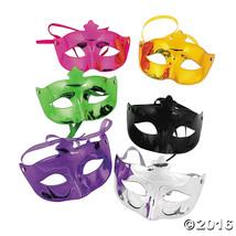 Metallic Mardi Gras Masks 6 Pack - $13.66 CAD