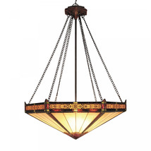 ELK Lighting Filigree And Glass 3-Light Pendant Finished In Aged Bronze - $667.52