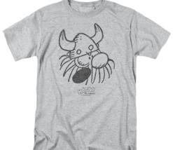 Hagar the Horrible graphic t-shirt Retro American Comic strip gray tee KSF172 image 2
