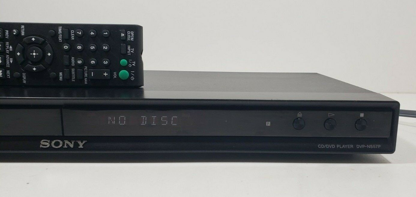 Sony DVD/CD Player DVP-NS57P With Remote..Tested