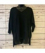San Joy soft tunic v-neck sweater - $28.71