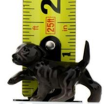 Hagen Renaker Dog Labrador Retriever Puppy Black Ceramic Figurine image 2