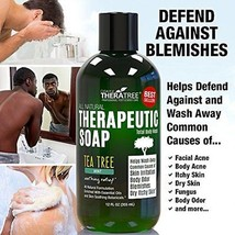 Oleavine Antifungal Body Soap with Tea Tree and Neem for Ringworm Acne Itch 12Oz - $20.79