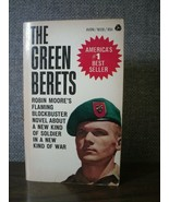 The Green Berets by Robin Moore (1965 Avon Paperback) - $8.55