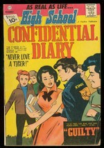 HIGH SCHOOL CONFIDENTIAL DIARY #10 1961-CHARLTON-GANGS VG/FN - $81.97