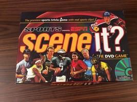 Sports ESPN Scene It? The DVD Board Game Brand New 2005 - $16.82