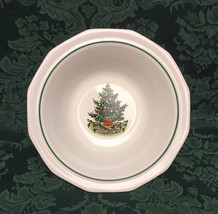 """Pfaltzgraff Christmas Heritage 9"""" serving bowl holiday tree and train pattern - $8.00"""