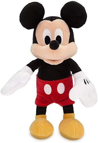 BASSKET.COM Disney Mickey or Minnie Plush Rattle 8 inc.for Babies (Mickey) - $8.99