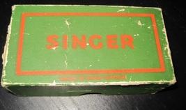 Vintage SINGER Sewing Machine PARTS in Antique Cardboard Box - $24.99