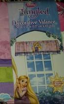"NEW Disney Princess Tangled Rapunzel Decorative Valance 50"" Pink Purple ... - $12.99"