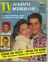 ORIGINAL Vintage January 1957 TV Radio Mirror Magazine Hal March Elvis - $18.51