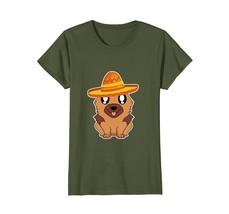 Cute Dog German Shepherd Mexico Cinco De Mayo T Shirt - $19.99+