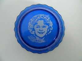 "Vintage Shirlely Temple Cobalt Cereal Bowl 6.25"" Top Diameter - $24.99"