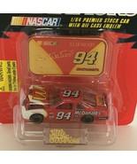 Racing Champions Bill Elliott #94 McDonald's Premier Car Toy & Emblem 19... - $7.20