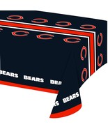 NFL Plastic Table Cover, 54x102, Chicago Bears [Free Shipping]**Free Shi... - $14.99