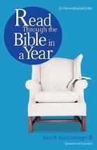 Read Through the Bible in a Year [Paperback] Kohlenberger III, John R - $5.89