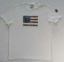 Men T Shirt American Rag XL Beige Short Sleeves 19111 - $10.88
