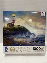 "Thomas Kinkade 1000 Piece  Jigsaw Puzzle ""Light of Hope"" 27"" x 20"" Made In USA - $15.95"