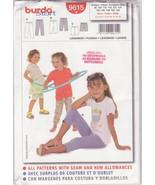 Burda Pattern 9615 Sizes 2 to 13 years Leggings Close Fitting Easy Sew U... - $10.00