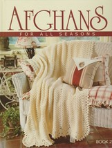"""Hard Covered Book 2 """"Afghans For All Seasons"""" - Leisure Arts - Gently Used - $18.00"""