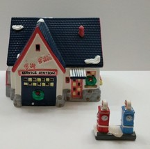 Dept. 56, Original Snow Village, Big Bill's Service Station Retired - $43.51