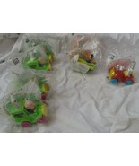 Lot Of 7 McDonalds Happy Meal Toys, Looney Tunes Quack-up Cars, New 1992 - $7.91
