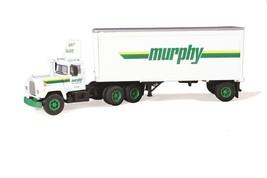 Mack R Model With 28' Pup Trailer Murphy Motor Freight 1/64 First Gear 60-0242 - $59.35
