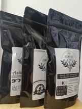 EZ Coffee and Tea 3(Three) 12 oz bag/pack Whole Bean Coffee - Freshly Roasted - $32.45