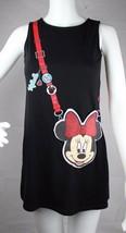 Disney Jeunesse Filles Minnie Mouse Porte-Monnaie Robe sans Manche Noir ... - $14.36