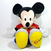 Disney Mikey Mouse Large Stuffed Plush Toy 22 Inches 2002 Mattel - $19.79