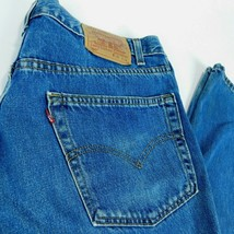 VTG Levis 550 Blue Denim Jeans Relaxed Fit W 38 L 36 (Act  W 39 ) USA - $29.99