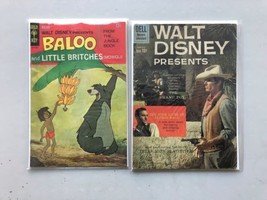 Lot of 2 Baloo & Little Britches (1968) #1 Walt Disney Presents (1960) #4 - $19.80