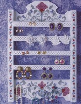 Jewelry Organizer Annie's Plastic Canvas PATTERN/INSTRUCTIONS Leaflet HTF - $5.37